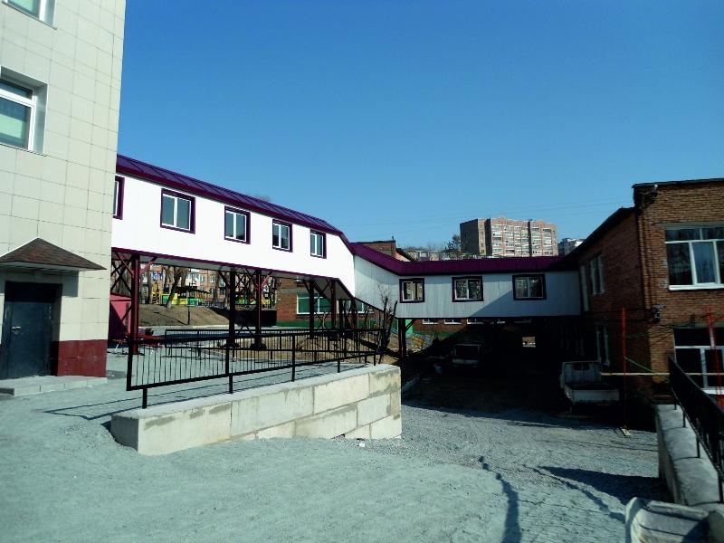 Реконструкция здания детского сада по ул. Узбекская, 15 в г. Владивосток