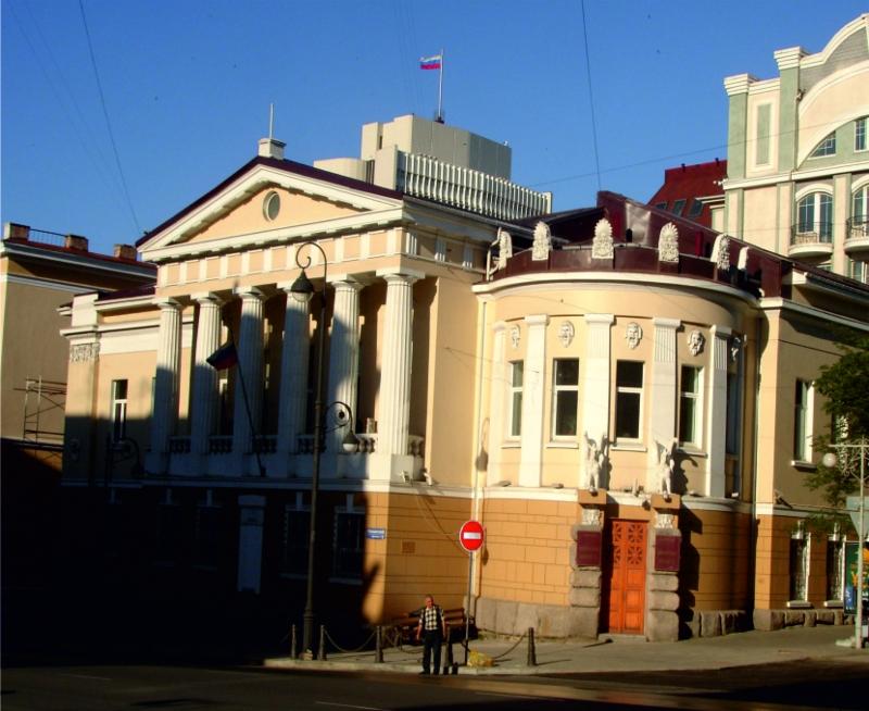 Кап. ремонт здания Приморского краевого суда  в г. Владивосток