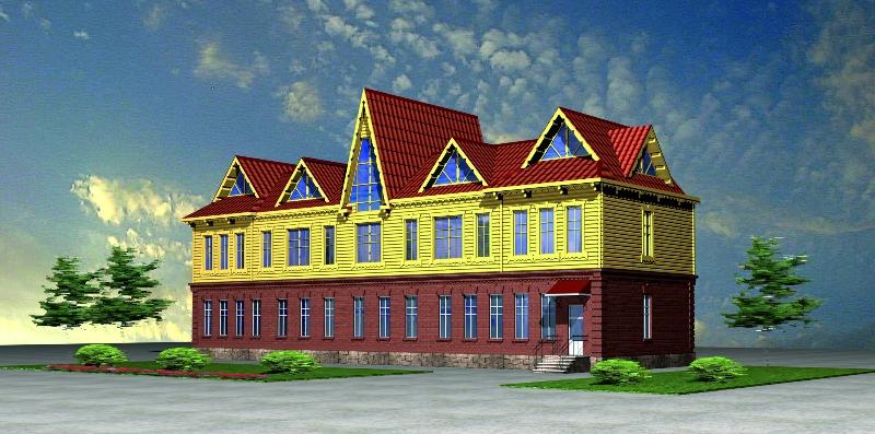 Эскизный проект здания гостиницы по ул. Катерная, 12, в г. Владивосток