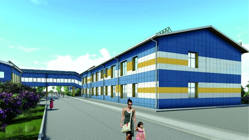 Реконструкция здания детского сада в с. Яковлевка