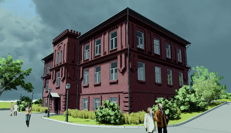 Реконструкция здания по ул. Саратовская, 4 в г. Владивосток