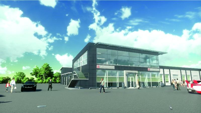 """Реконструкция здания сервисного центра компании """"Мицубиси"""" в г. Владивосток"""