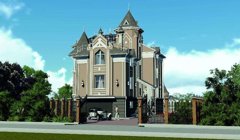 Эскизный проект ИЖД по ул. Петропавловская в г. Владивосток