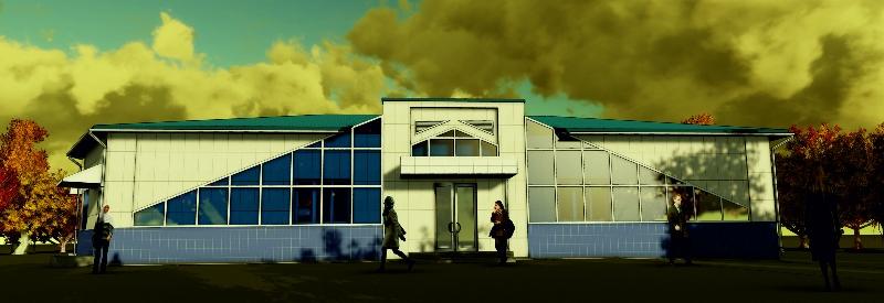 Реконструкция здания торгового центра по ул. Калинина 273 в г. Владивосток